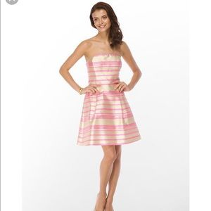 NEW Lilly Pulitzer Sherry Strapless Dress Size 12